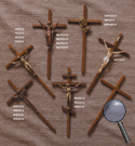 INTERIOR CROSSES—WOOD