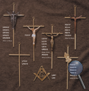 INTERIOR CROSSES—METAL